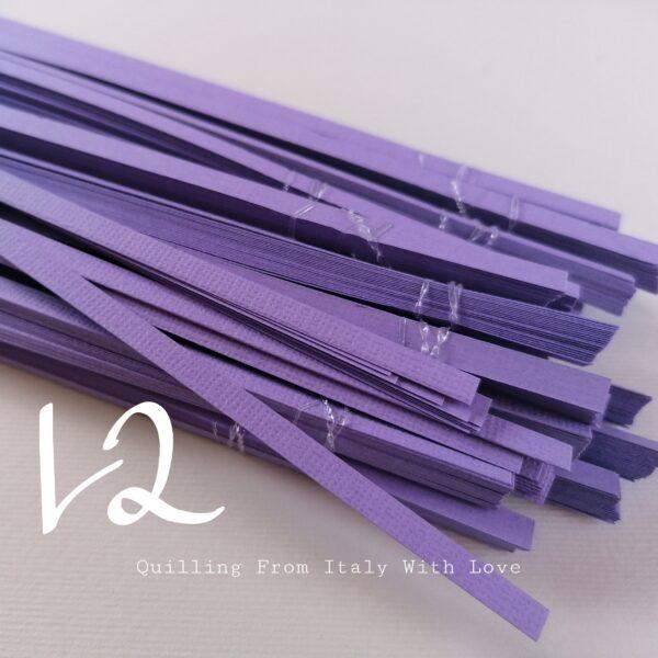 strisce lilla per quilling 220 gr