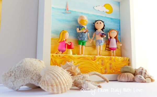 corso quilling 3d